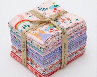 FALL SALE - Fat Quarter Bundle (18) - Princess Dreams - Riley Blake Designs