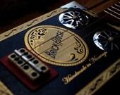 Brickhouse Deluxe cigar box slide guitar