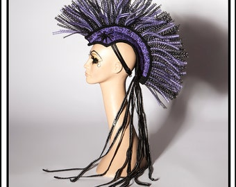 Haunt… Mohawk In Haunted Mansion Theme Headdress