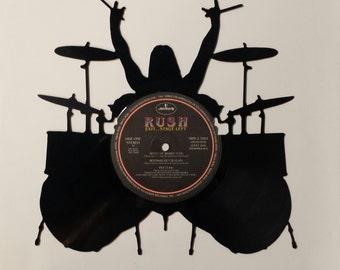 RUSH vinyl silhouette