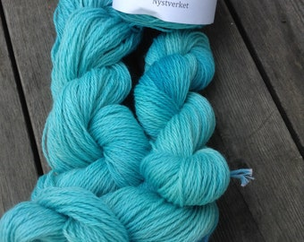 """Hand dyed Corridale """"Pacific"""""""