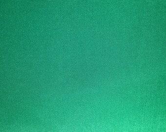 2 Yards Emerald Green Rayon Taffeta Fabric