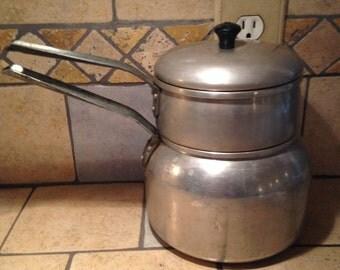 Aluminum Double Boiler by Wearever