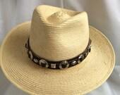 """Vintage """"Grumarcaah"""" hat Western Style from Quatemala"""
