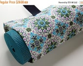 Yoga Mat Bag, Yoga Mat Carrier, Womens Yoga Bag, Purple, Blue, Green Floral