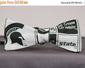 Michigan State University Block Bow tie