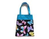 Handmade Fabric Butterfly Gift/Goodie Bag - Butterflies