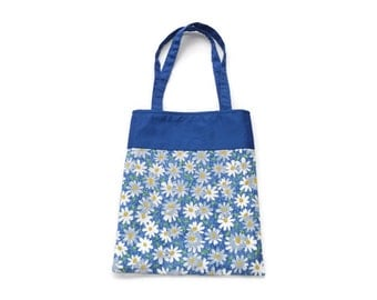 Fabric Flower Gift Bag/Goodie Bag - Daisies
