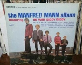 The Manfred Mann Album Vintage Vinyl Record