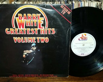 Barry White's Greatest Hits Volume Two Vintage Vinyl Record