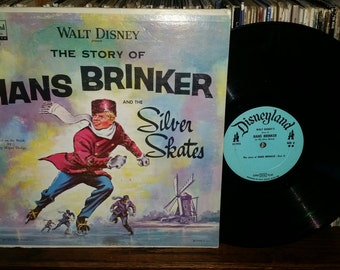 The Story Of Hans Brinker And The Silver Skates Vintage Vinyl Record
