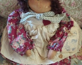 Attic baby rag doll