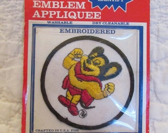 Vintage Mighty Mouse Patch Embroidered Deadstock SALE