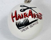 HAIR Salon ARTIST Ornament Personalized FREE