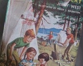 A Vintage 1957 Childrens Book Happy Hollisters and the Scarecrow Mystery