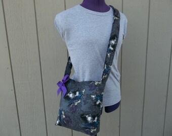 Disney Female Villains Crossbody Shoulder Bag in Charcoal
