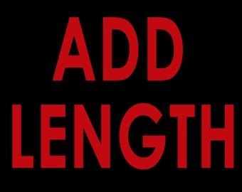 Add Length to your Superhero or Princess Dress