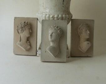 three cement graces