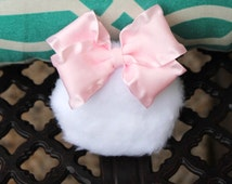Girls Bunny Tail CUTE Photography Prop Easter Photo Prop