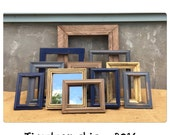 PICTURE FRAME - Picture Frames - Rustic Picture Frame - Reclaimed Wood Frame - Farmhouse Decor - Picture Frame Set -CHIC