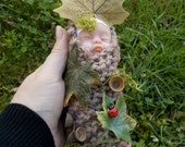 ooak baby bundle oak tree leaves tigs baby shower unique natural ladybird gift