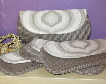 Bridesmaid clutch, Evening purse , Wedding clutch,Prom purse,Prom clutch