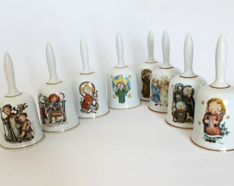 Vintage Sister Berta Hummel Christmas Bell Collection West Germany