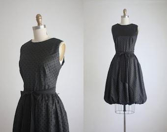 vintage bubble hem party dress