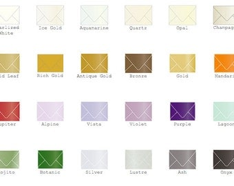 Gift Card Envelope - Metallic (2 5/8 x 3 5/8) 25/Pk