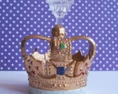 Wilton Crown Cake Toppers Miniature Candle Holder