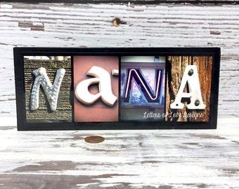 Nana Gift, Nana and Papa, Nana Wood Sign, Grandparents Day Gift, Baby Announcement Grandparent, New Grandparents, Gifts for Grandma to Be