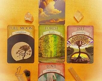 Tarot Reading Earth Magic Psychic  Oracle Cards Tarot Pendulum Spiritual Guidance Via Email Same Day Fortune Telling 5 Card Cross Spread