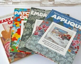 VINTAGE Better Homes & Gardens Craft Books - Choose 1, 2, 3, or ALL 4