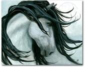 DreamWalker Majestic Horse ArT-  Giclee Print by Bihrle mm161