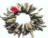 Rustic Driftwood Nuggets for Beach Theme Wedding Decor , Hurricane Vase Filler & craft projects N84