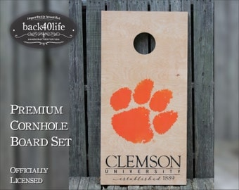 The Paw - Clemson University Tiger Paw Cornhole (CH-CUTP1)
