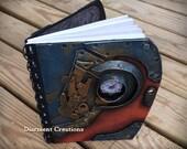 Steampunk Notebook Mechanical Forms 1