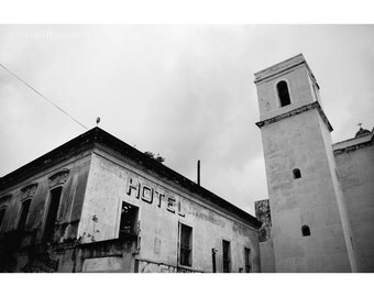 Architecture Photography, Old San Juan, Puerto Rico, Black and White Photography, San Juan Photography, Puerto Rico Art, Travel Photography