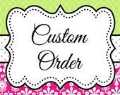 Custom Order for LisaV, Magnetic Fridge Board, Custom Magnetic Board, Magnetic Photo Board, Fridge Organizer