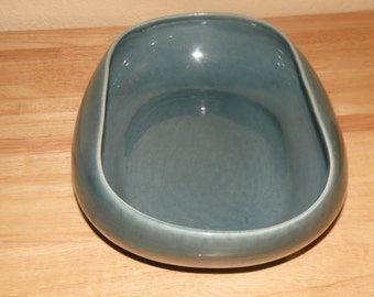 Russell Wright Sea Foam Green Oval Vegetable Bowl
