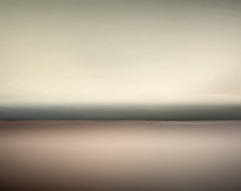 pink sunset, zen photography, extra large wall art, abstract seascape, abstract landscape, black, cream, zen wall art, emotional landscape