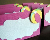 Beach Ball Party Food Tent Cards - Reserved for BRANDIEP
