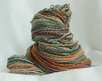 Hand spun merino 3 ply worsted  200 yards (116 grams/4.1 oz) #2