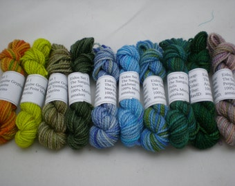 Mini Skeins - The Sanguine Gryphon Eidos 5 g set of 10 (set 1)