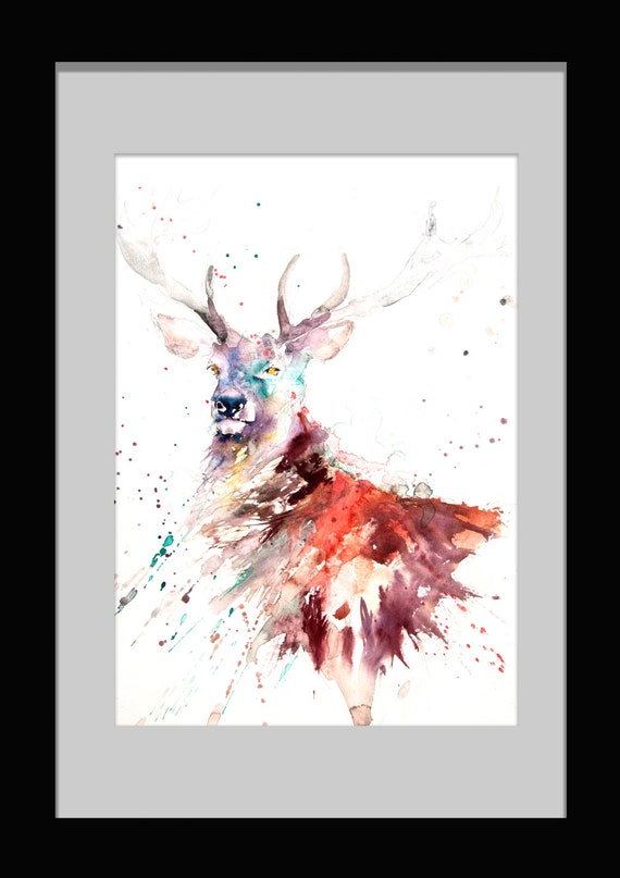Limited Edition Print Of My Stag Wall Art Home Decor Nursery