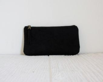 Iphone case, phone pouch, Black gadget case