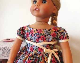 18 Inch Doll Clothes / Doll Dress / Dress / Doll Clothes / Doll Clothing / Doll Accessories / Fits American Girl Doll - 1059