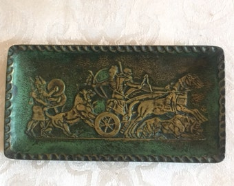 French bronze tray by Max Le Verrier