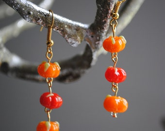 Harvest earrings (light)