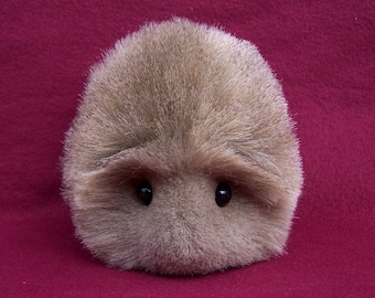 Brown Agouti Guinea Pig Handmade Plush Toy